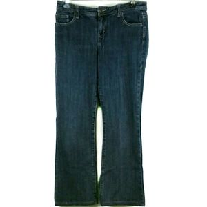 Nicole Miller Jeans Size 10 Embroidered Pockets